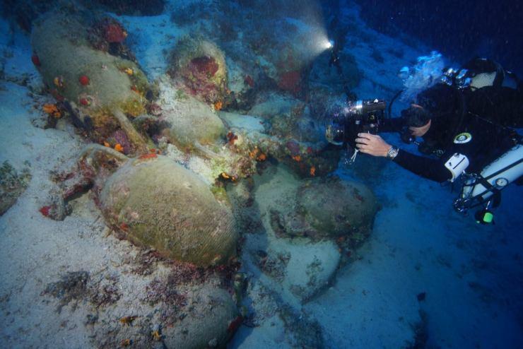 ギリシャ 水中考古学 6