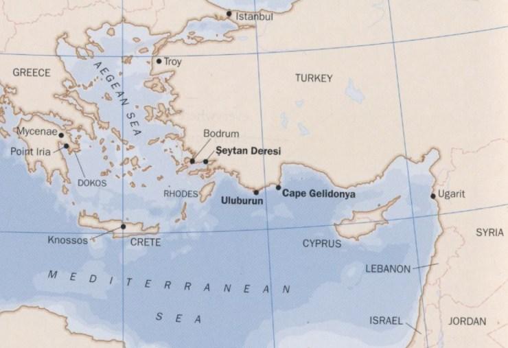水中考古学 ウルブルン沈没船