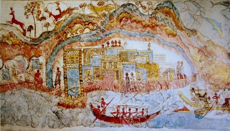 ミノア文明 エーゲ海 水中考古学