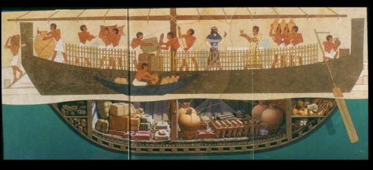 水中考古学 ウル・ブルン沈没船 地中海