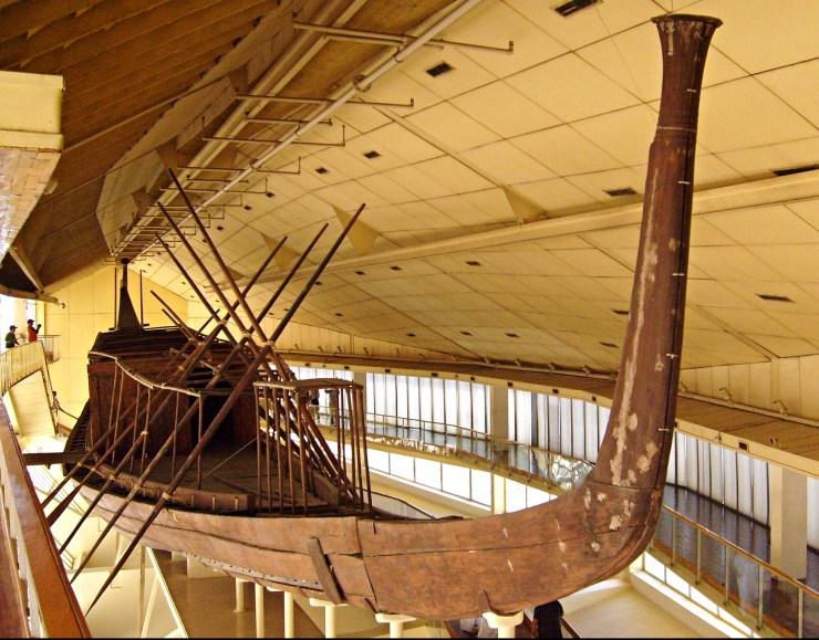 エジプト 水中考古学 クフ王 太陽の船 1
