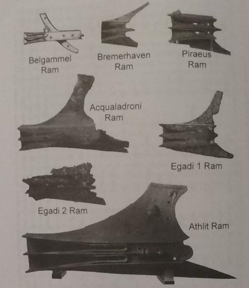 水中考古学 ラム 古代 兵器 2