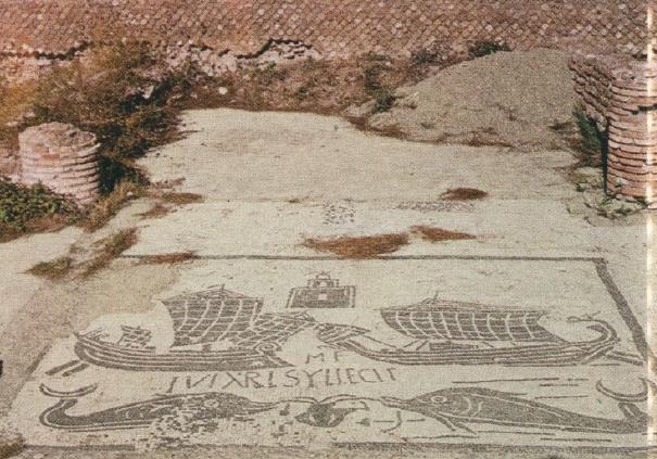 ローマ帝国 船 1