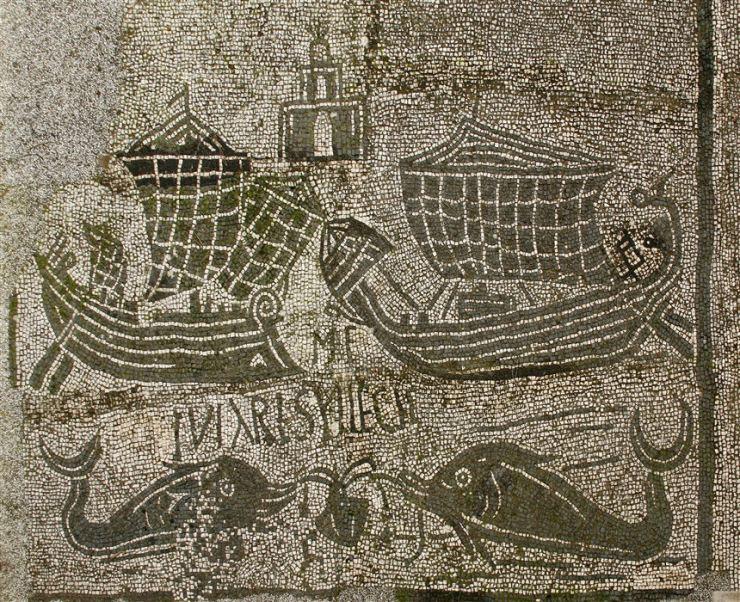 水中考古学 ローマ帝国 船 2
