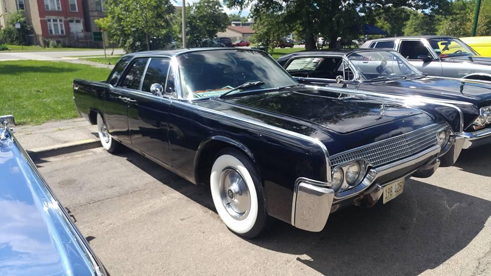 Black 61 Lincoln Continental