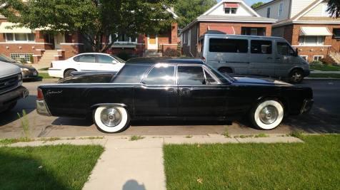 Black 61 Lincoln Continental For Sale