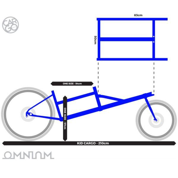 Foto Lastenrad Omnium Geometry