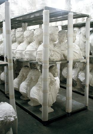 石膏室の様子