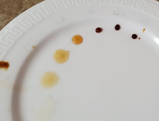honey darkening as the maillard reactions progress