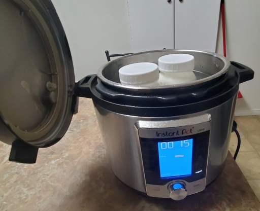 fermenting yogurt