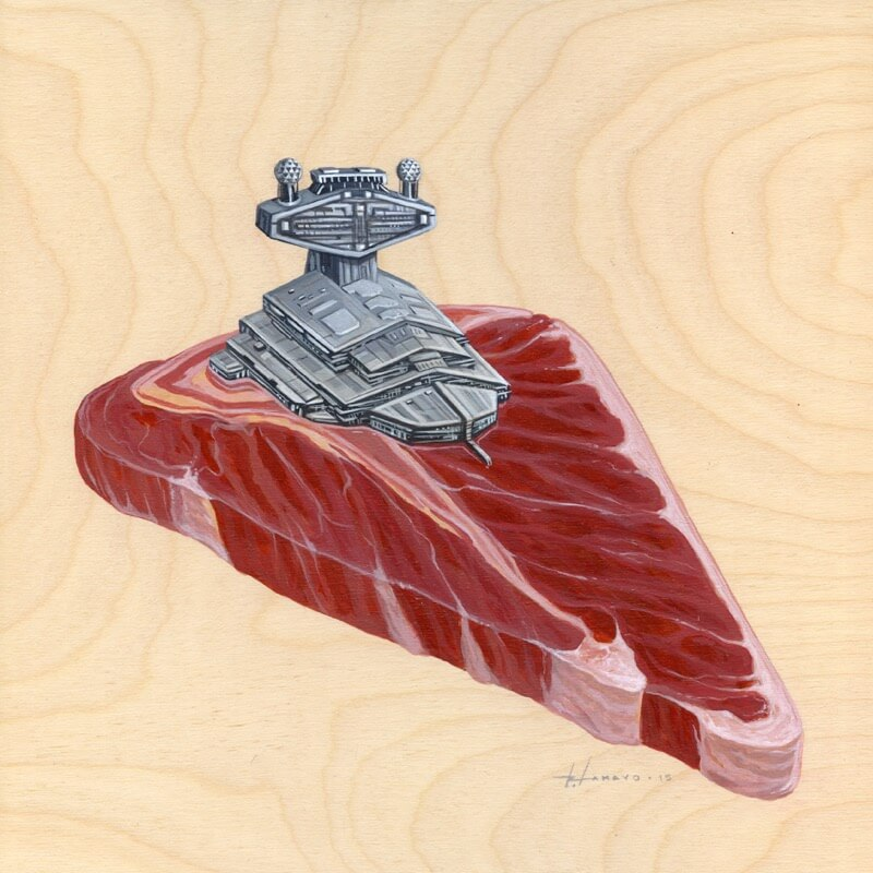 Want to eat star destroyer 013