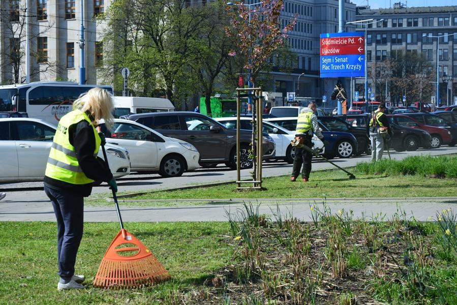Работа в Польше: покос травы, расчистка территории