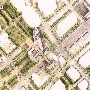 The Ten-Minute Diamond plan reconceives a government ghetto as a walkable cultural district