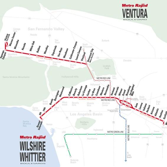 Metro Rapid - BRT for LA