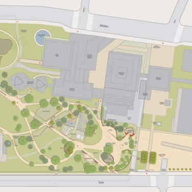 Tar Pits Site Plan