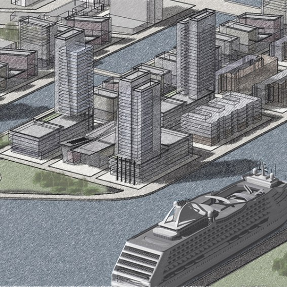 Developing a new sustainable district for Copenhagen's docklands