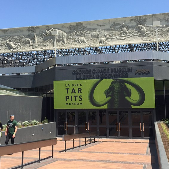 Tar Pits museum entrance