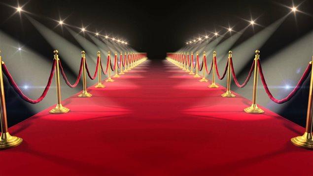 tapis rouge pour la decoration de