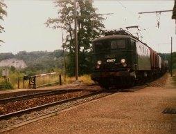 CH - SNCF BB8175 à Russin (ligne de La Plaine)