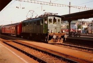 CH - EBT, Be 4/4 à Solothurn