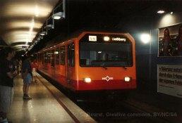 CH - SZU, rame pour l'Uetliberg à Zurich HB