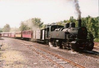 F - CFV, Lamastre, train pour Tournon