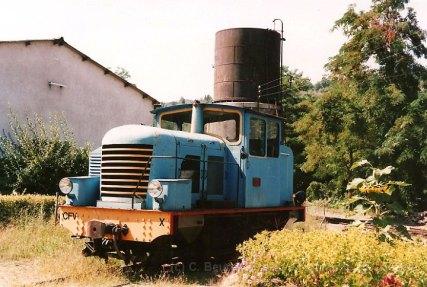 F - CFV locotracteur X à Lamastre