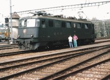 """CH - CFF - Ae 6/6 """"Burgdorf"""" à Nyon"""