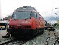 CH - CFF Re 460 à La Chaux-de-Fonds