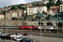 CH - CFF Re 460 à Neuchâtel