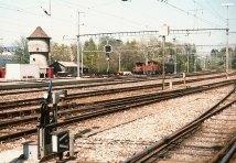 CH - CFF, tête Est gare de Nyon