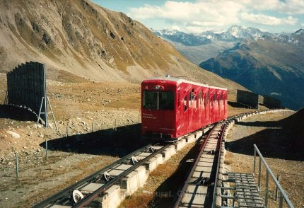 CH funiculaire Davos-Parsenn, station supérieure