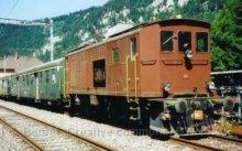CH - Classic Rail ex-Ce 4/4 BLS avec voitures légères