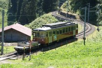 """La Be 4/4 31 a été achetée d'occasion à l'asm. Elle a été baptisée """"Lisi"""" et souvenir de son origine soleuroise: le train Soleure-Niederbipp est là-bas en effet surnommé """"Bipperlisi"""""""