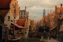 Modélisme hollandais: incroyable effet de perspective