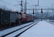 Ce train prendra le raccordement de Löchligut pour continuer sa course vers le Nord