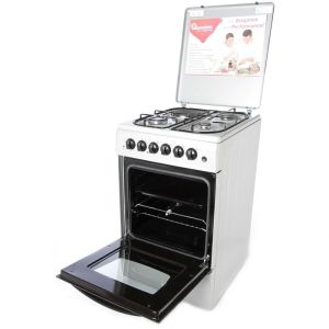 Gas & Electric Cooker 4 Gas 2 Electric