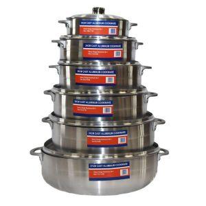 Generic Aluminium Pot Set 6pcs