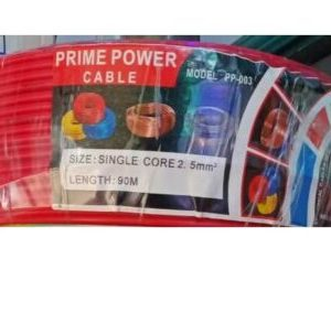 Prime Power Cable PP003-2.5mm Single Core 90metres