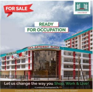 Thika gateway plaza residesial houses 2 bedrooms 3 bedroom and commercials