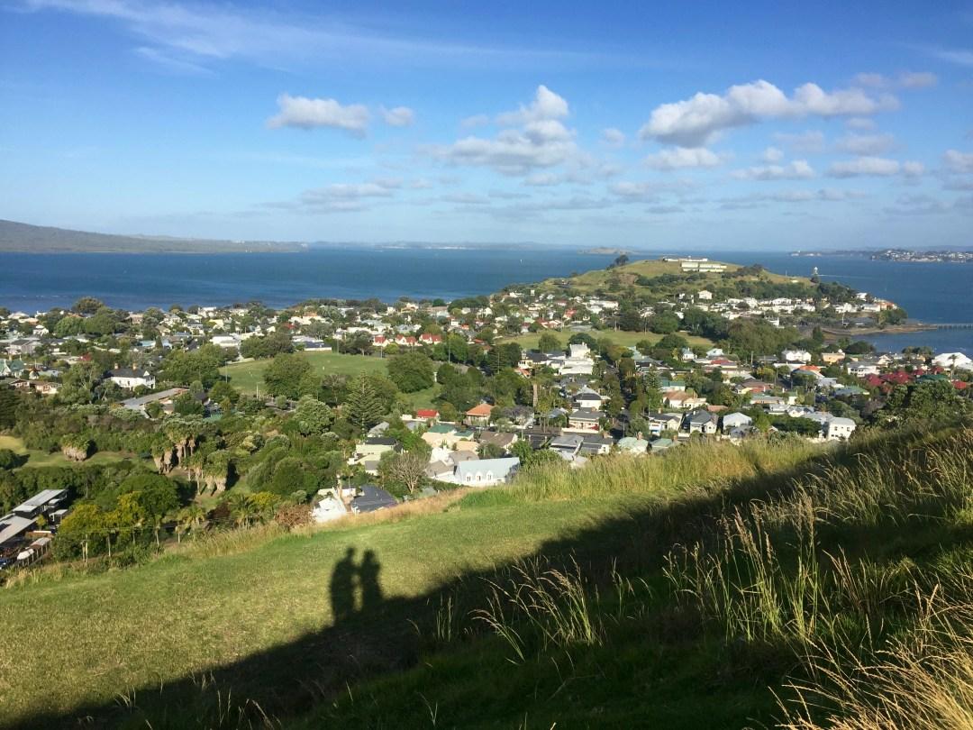 Devonport, an upmarket suburb of Auckland.