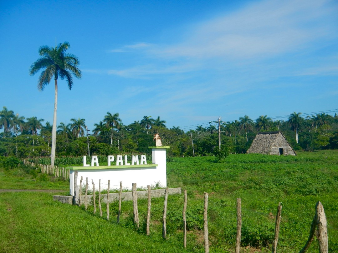 The beautiful town of La Palma in the Pinar Del Rio region of Cuba.