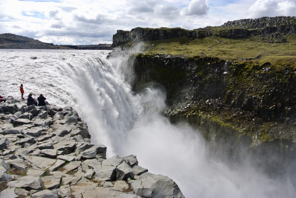 Iceland road trip: Dettifoss waterfall in North Iceland.