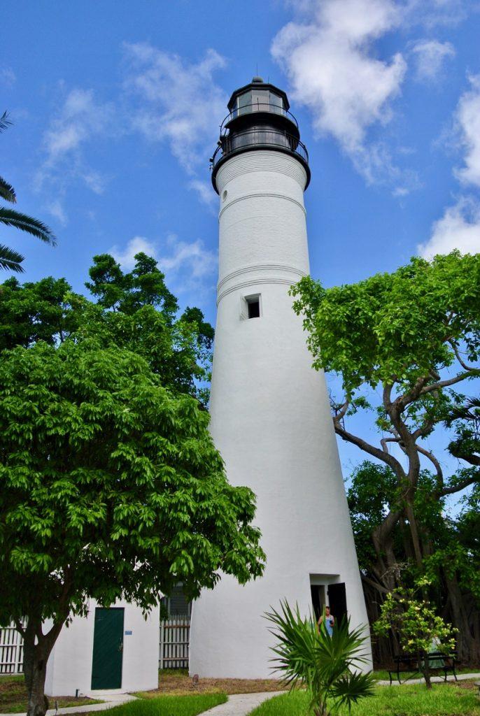 The Key West lighthouse.