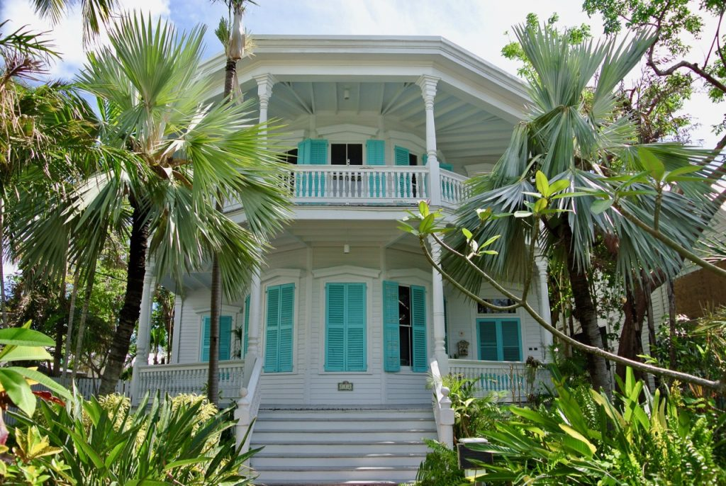 A beautiful home in historic Old Town Key West.a