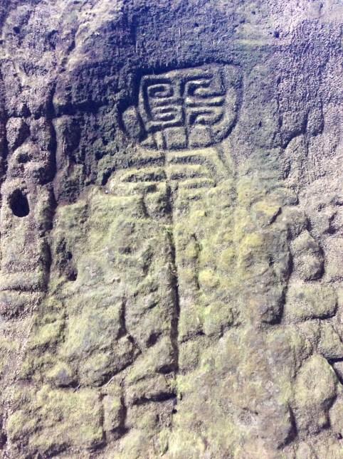 Indian Carvings in Cueva del Indio