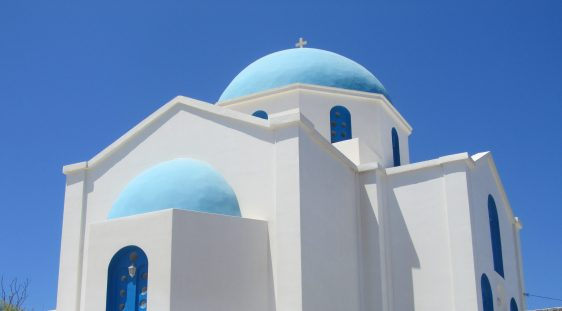 church on folegandros