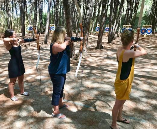 archery at tui magic life calabria