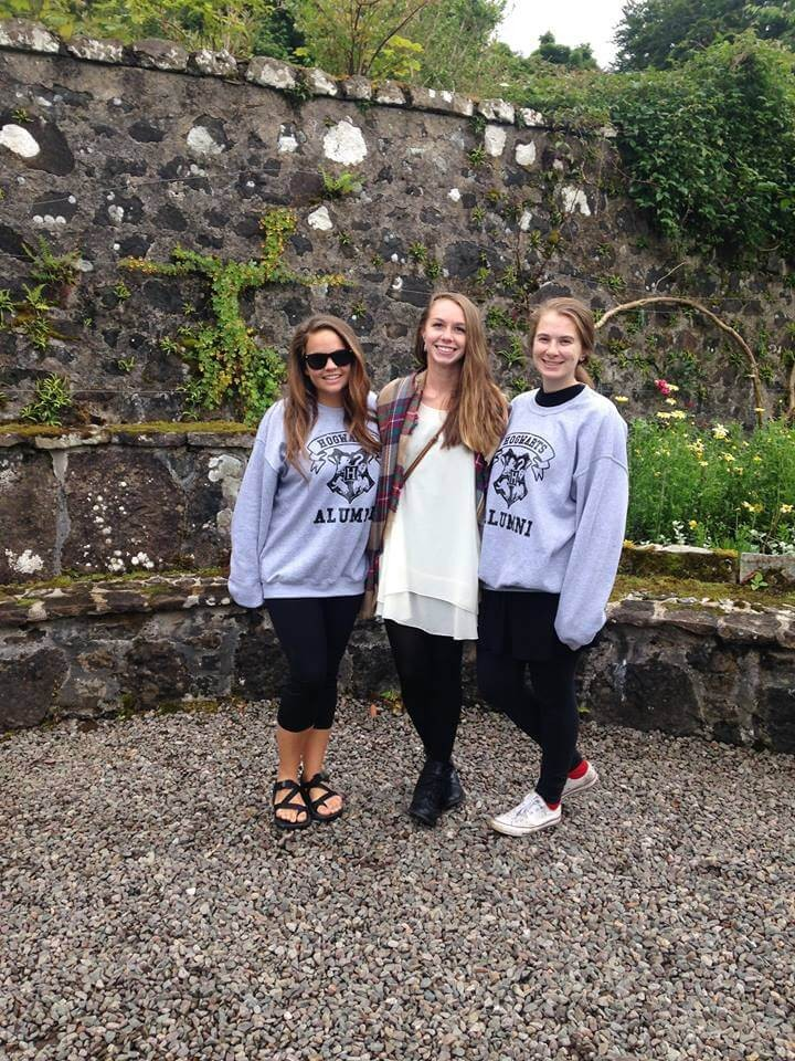 Suitcase Six girls in Scotland