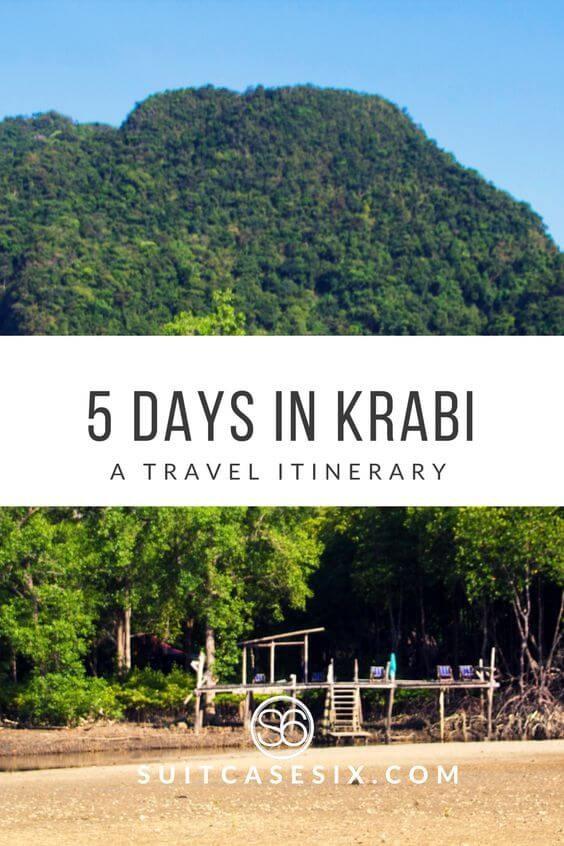 Suitcase Six krabi-pin 5 Days in Krabi, Thailand